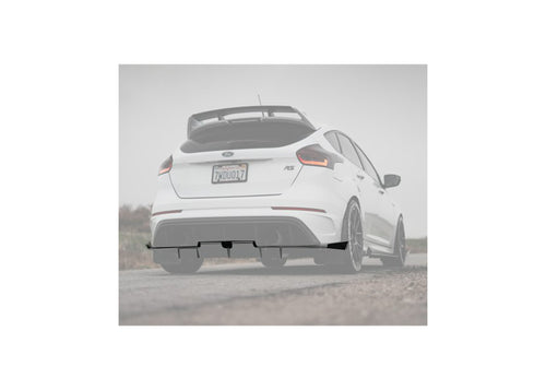 Ford Focus RS 2016-2018 Rear Diffuser V2 (full length spats)