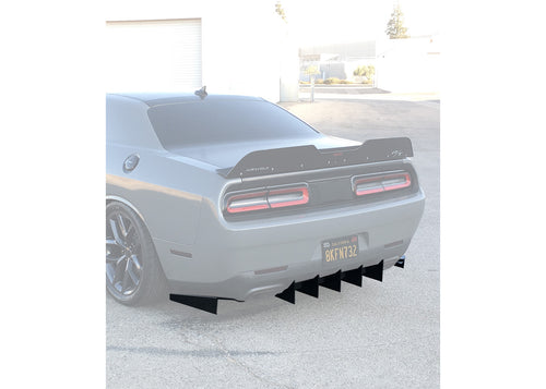 2015-20 Dodge Challenger Rear Diffuser Customizable
