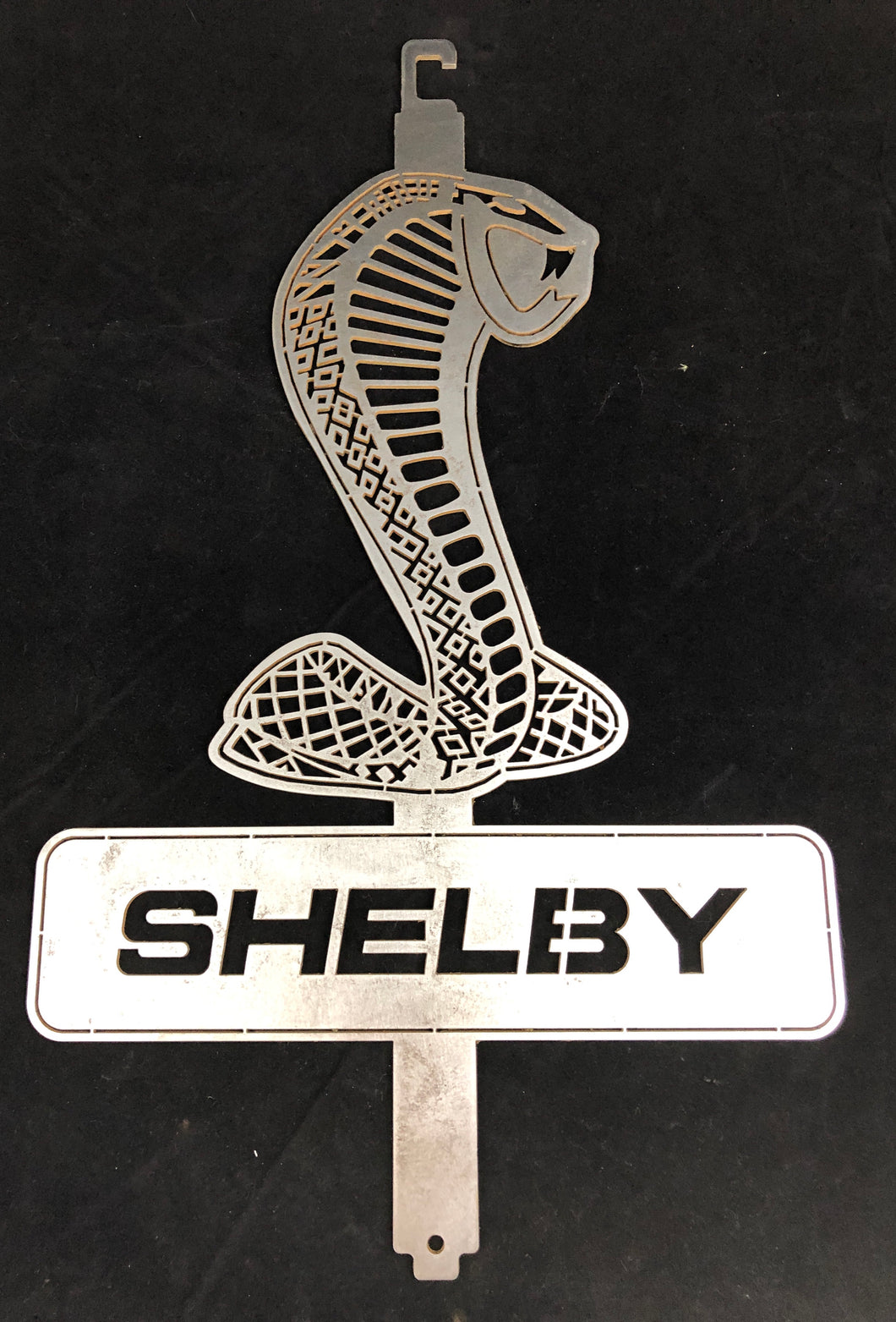 Shelby Hood Prop & Garage Art