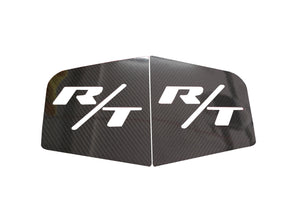 Dodge Charger Real Carbon Fiber Rear Window Covers