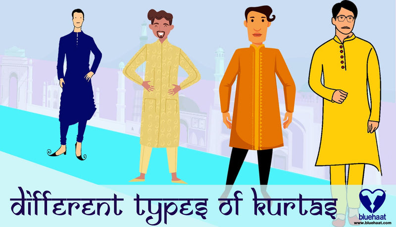 Different types of kurtas & how to use them - bluehaat