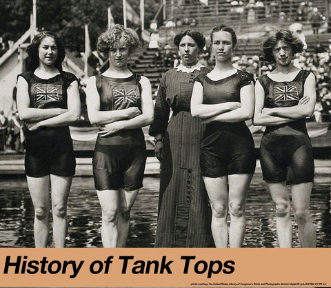 history of tank top sleeveless tshirts