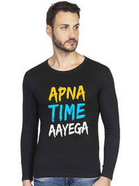 Apna Time Aayega Full Tshirt - bluehaat