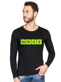 Genius chemistry periodic elements table funny Full T shirt - bluehaat