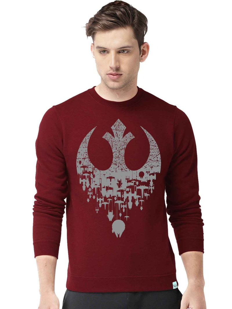 Sci Fi Movie Graphics Printed Sweatshirt - bluehaat