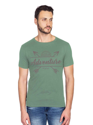 Adventure Graphics Half Tshirt - bluehaat