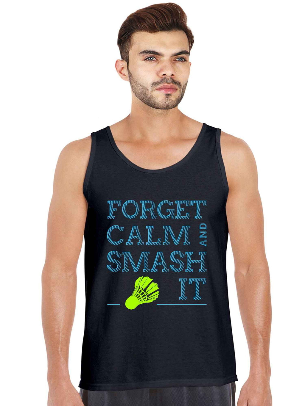 Smash It Badminton Shuttlecock Funny Quotes Tank Top - bluehaat