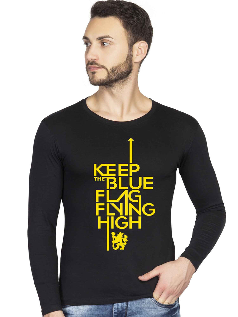 Keep The Blue Flag Flying High Full Tshirt - bluehaat