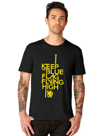 Keep The Blue Flag Flying High Half Tshirt - bluehaat