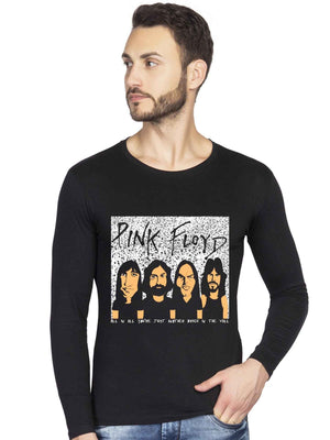Pink Floyd Graphics Printed Full Sleeve Tshirt - bluehaat
