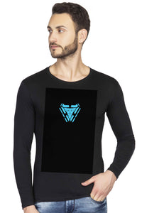 Glow in Dark Ironman Arc Reactor Graphics Full T shirt - bluehaat