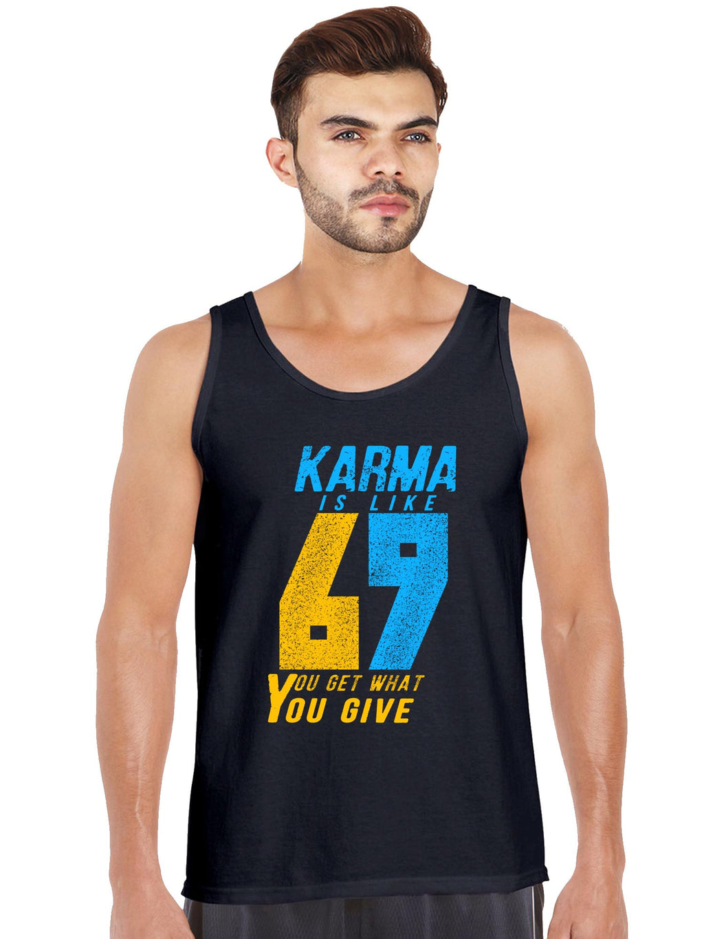 Karma 69 Graphics Printed Tank Top
