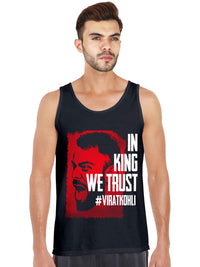 In King Kohli We Trust Tank Top - bluehaat