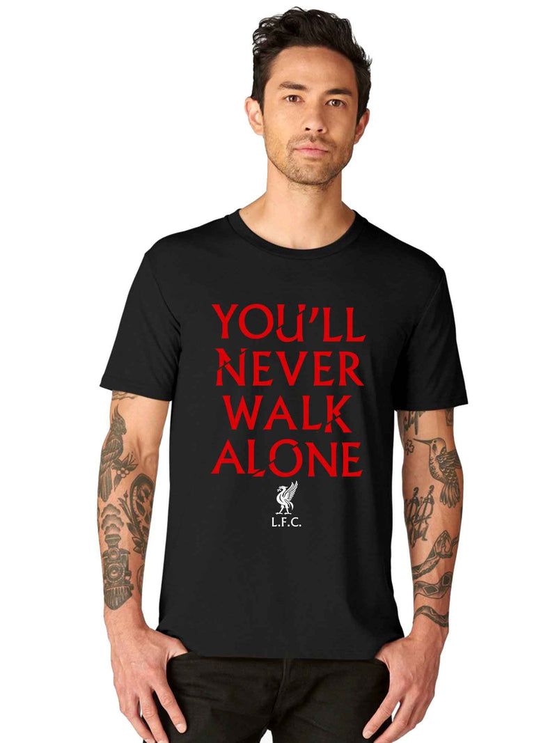 YNWA Liverpool Home Away Jersey Kit Half T shirt - bluehaat