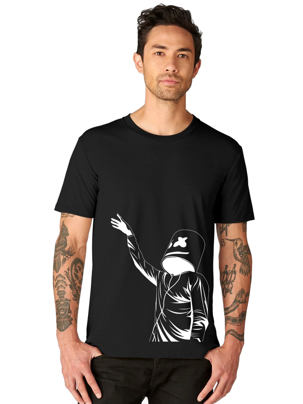 glow in dark Marshmello t shirt