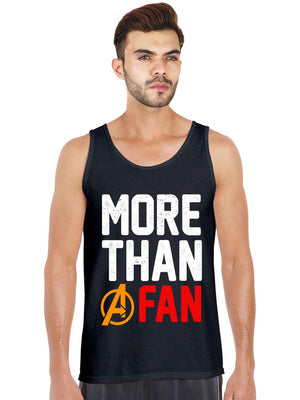 More Than A Fan Tank Top - bluehaat