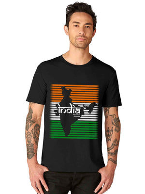 My Pride India Independence day Graphic Printed Half Tshirt - bluehaat