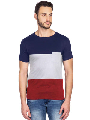 Latest Design stylish half sleeve T shirt for Men - bluehaat