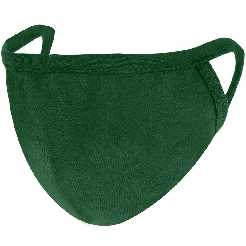 Anti microbe Olive Green cotton face mask bluehaat