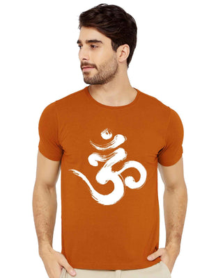 GID Om Graphics Half TShirt - bluehaat