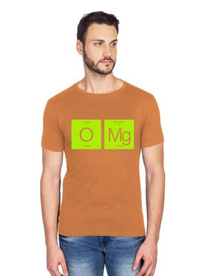 OMG Graphics Half Tshirt - bluehaat