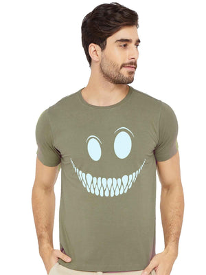 GID Smiley Lip Half Tshirt - bluehaat