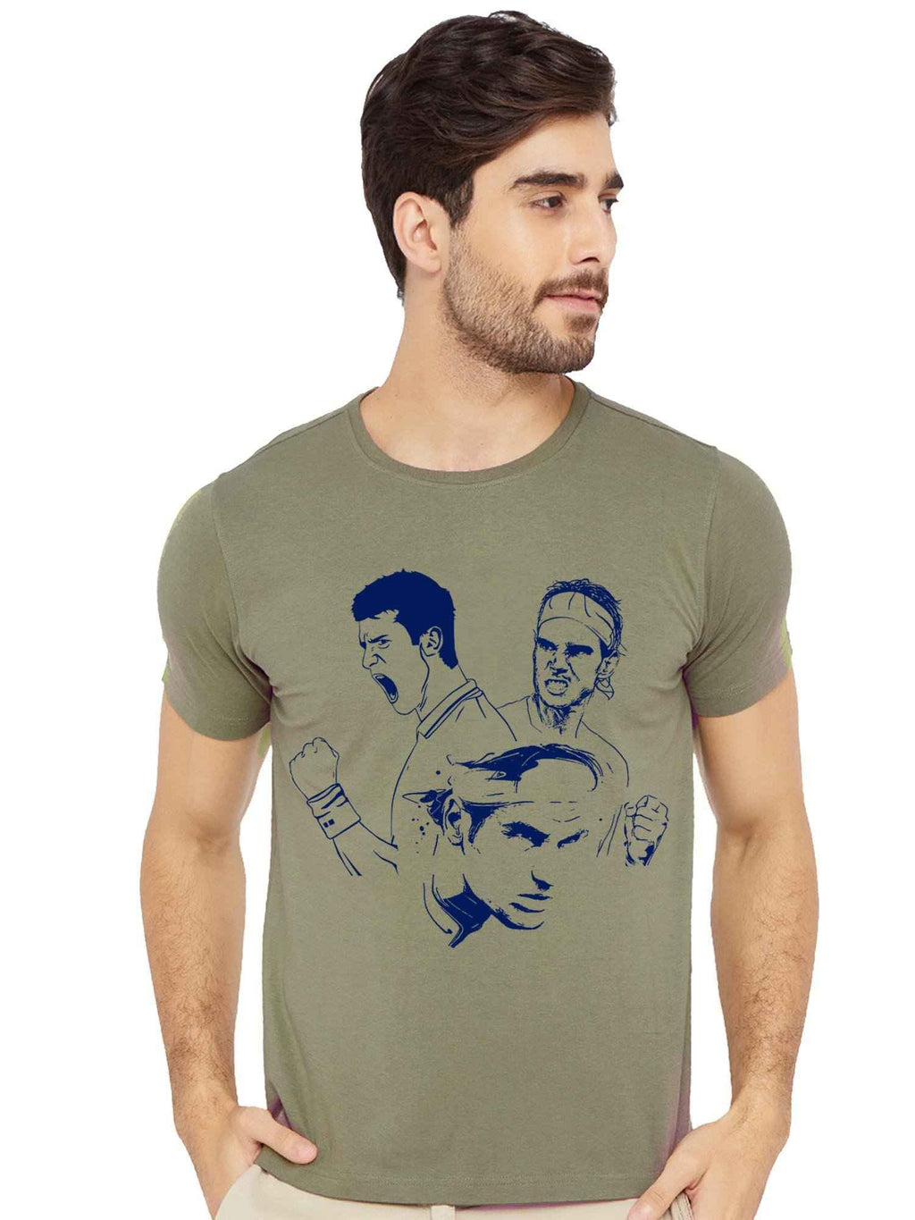 Tennis Legends Half Tshirt - bluehaat