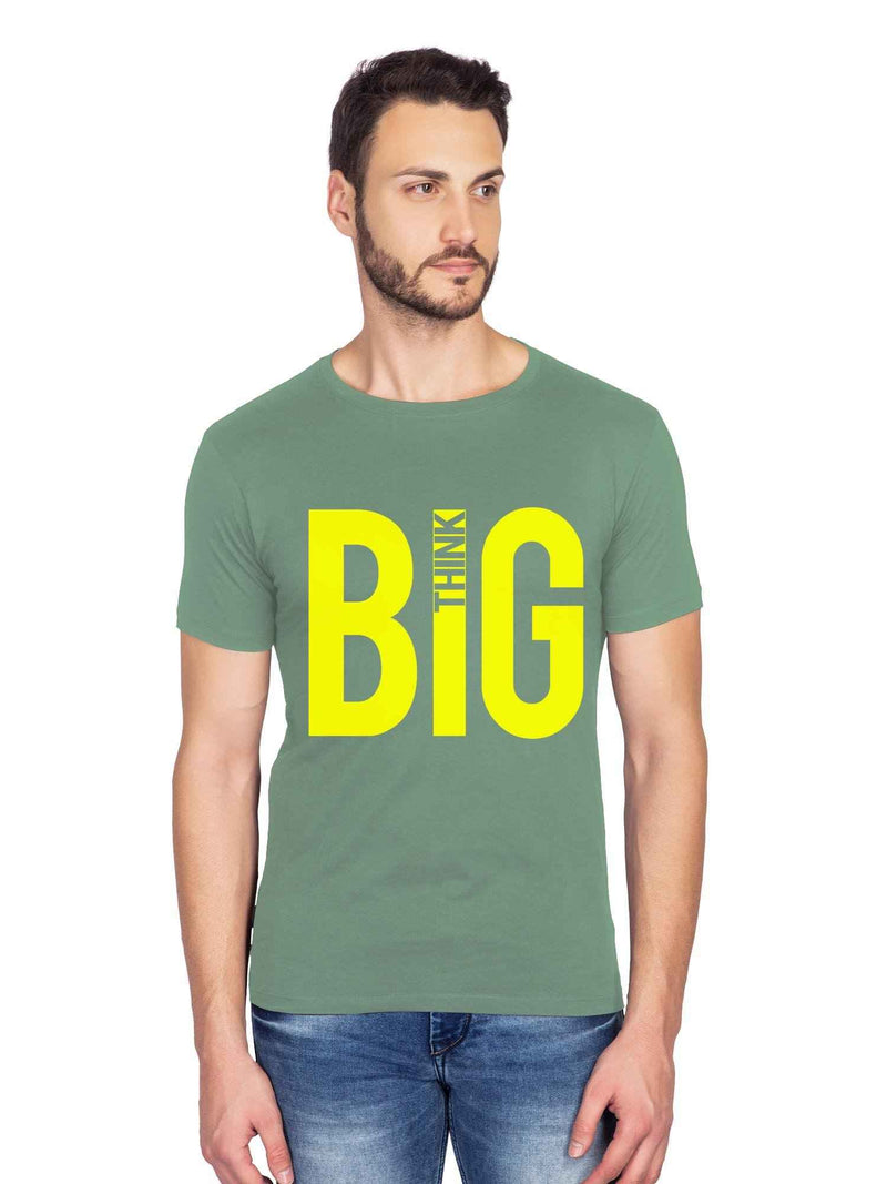 Think Big Graphics Half Tshirt - bluehaat