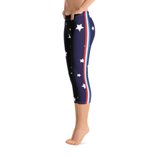 Load image into Gallery viewer, Star Struck Capri Leggings