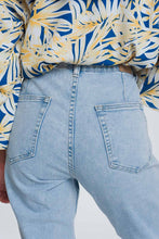 Load image into Gallery viewer, Pocket Detail Jeans in Light Denim