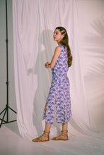 Load image into Gallery viewer, Agape Midi Dress in Blue Biro
