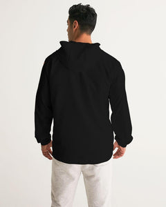 Men's FYC Supply Company Black Water Resistant Lightweight Windbreaker