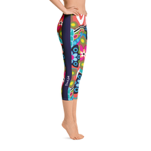 Load image into Gallery viewer, Fantasia Capri Leggings