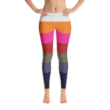 Load image into Gallery viewer, Rainbow-Chic Stripe Leggings