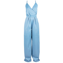 Load image into Gallery viewer, Sleeveless Wide Leg Jumpsuit