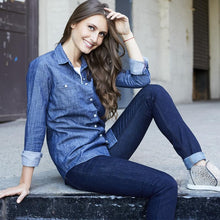 Load image into Gallery viewer, Bowery Denim Shirt - Women's