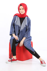 Women's Shirred Modest Tunic