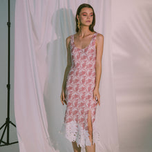Load image into Gallery viewer, Eros Midi Dress in Canyon Rose