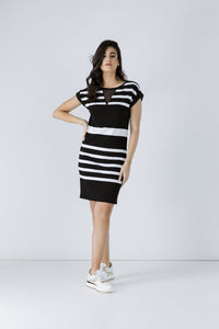 Straight Striped Dress