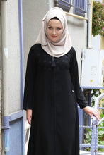 Load image into Gallery viewer, Women's Black Full Abaya