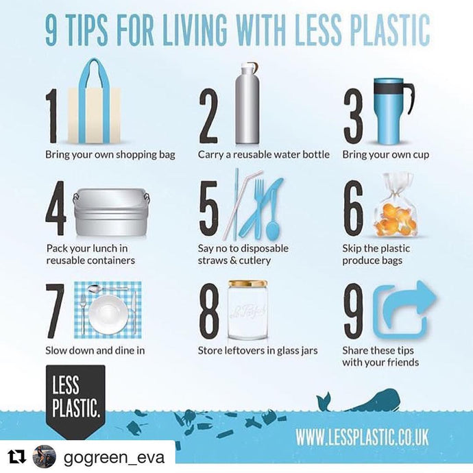 Another nine ideas for reducing your plastic footprint...