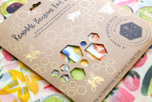 Reusable Beeswax Wraps - Fruity Favourites selection