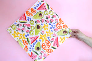 fruit beeswax wrap