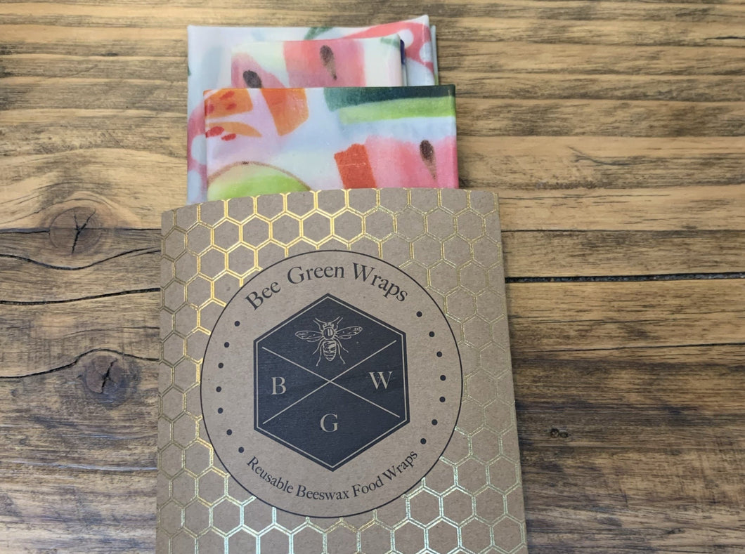 Beeswax Wraps - Kitchen Set