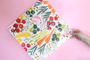 vegetable beeswax wrap