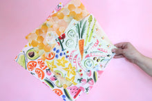 Beeswax Wraps - 'All About Sunshine' Pack