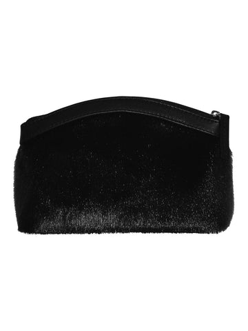 Black Sælskinds pung - clutch Pipaluk