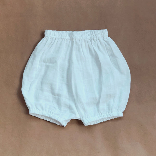 Bubble Shorts (White)