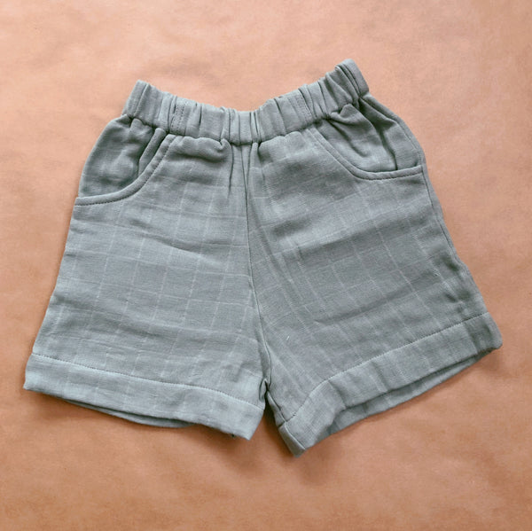 Everyday Shorts (Seafoam Grey)
