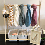 muslin fitted cot sheets + organic + momo + bubs + nursery + styling